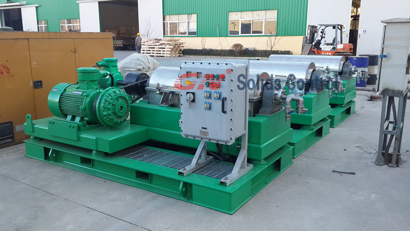 Coupler decanter centrifuge