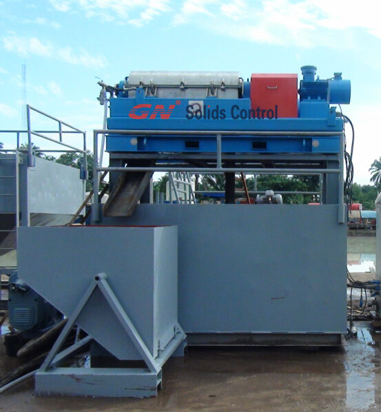 GN centrifuge for dewatering unit